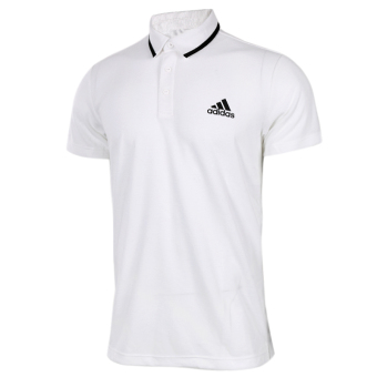 Adidas s96219 casual short sleeved New style polo shirt training T-shirt (BJ8760)