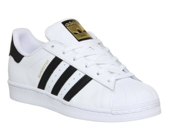 ADIDAS Superstar Shoes (White)