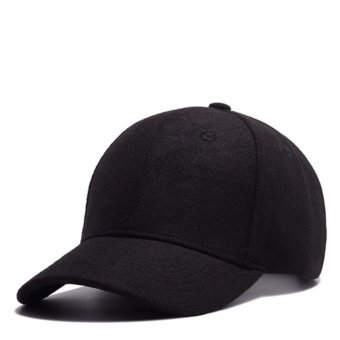 Adjustable Baseball Caps Embroidery Cotton Baseball Cap Boys Girls Snapback Hip Hop Hat black - intl Price Philippines