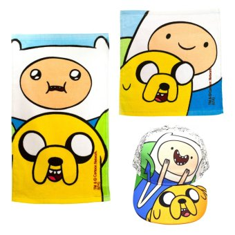 Adventure Time Kid's Cap 52cm with Face and Hand Towels
