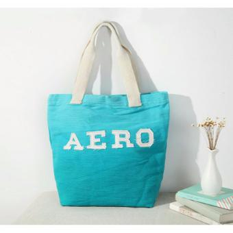 Aeropostale Aero Canvas Beach Tote Bag 224 grams