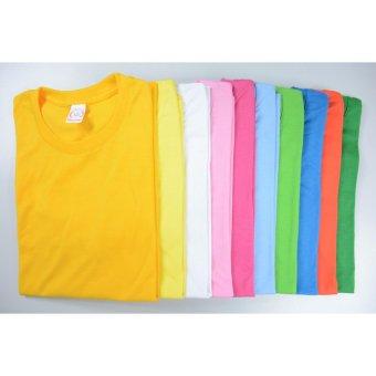 AIIZ UNISEX Plain T-Shirt (Light Green) - 3