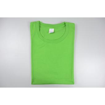 AIIZ UNISEX Plain T-Shirt (Light Green)