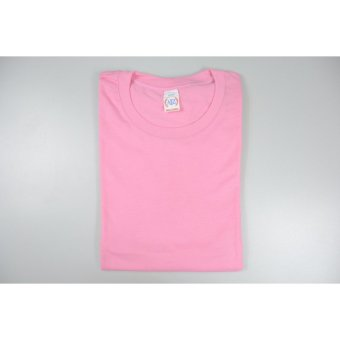 Aiiz unisex plain t shirt light pink lazada ph for Plain t shirt wholesale philippines