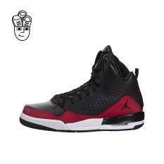 Air Jordan SC-3 Basketball Shoes Black / Black-Gym Red-White 629942