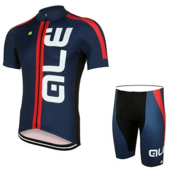 ALE Cycling Clothing Summer Men Cycling Jerseys Bike Clothing Bicycle Short Breathable Sportwear Bike Clothes X34-01 - intl