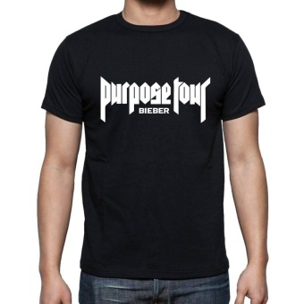 All About Rock Bieber Purpose Tour inspired t-shirt (Black)
