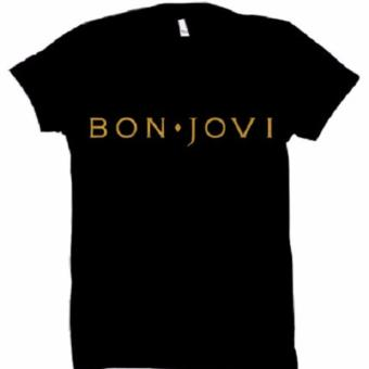All About Rock Bon Jovi Band T-Shirt (Black)
