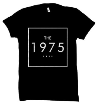 All About Rock The 1975 Band Shirt (Black)