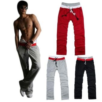 Amart Fashion Men's Sweatpants Loose Casual Jogging Pants - intl - 2