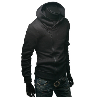 Amart Zipper Hooded Hoodie Fleece Jacket Coat Sports Suit Casual Fashion Men's Clothing