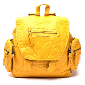 Amore BA0116-09 Backpack (Yellow) - picture 2