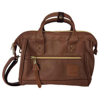Anello Leather Mini Boston Bag AT-H1021 (Brown)
