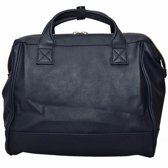 Anello PU Leather Boston Bag (Navy) - 3