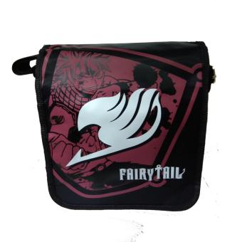 Anime - Fairy Tail Design Body Bag ( Black )