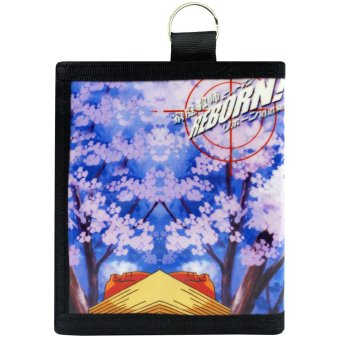 Anime Hitman Reborn! Trendy Glossy Printed Wallet - 2