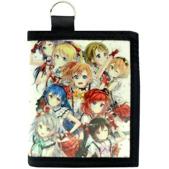 Anime Love Live! School Idol Project Trendy Glossy Printed Wallet