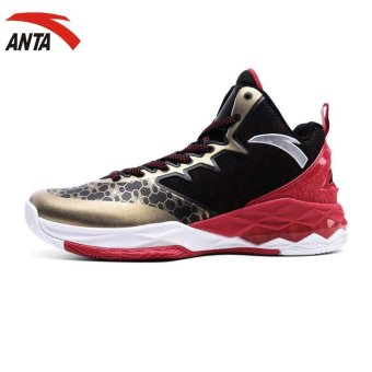 Anta mens basketball shoes spring 2017 new comfortable non slipwear high top basketball shoes 11711301 - intl Price Philippines
