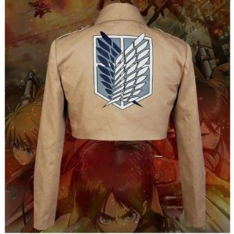 Attack On Titan Shingeki Kyojin Scouting Legion Cosplay Jacket Coat L - Intl