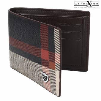 Attraxion Barley - 61878 Short Bifold Leather Wallet for Men - D2 Price Philippines