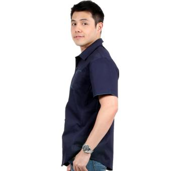 Attraxion Clarence Polo for Men (Navy Blue) - 2