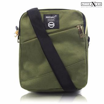 Attraxion Damon - 880 Sling Crossbody Bag for Men (Green)