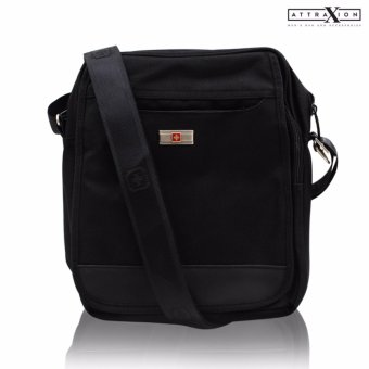 Attraxion Karlos - A160 Sling Crossbody Bag for Men (Black)
