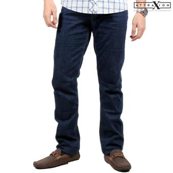 Attraxion Men's Denim Jeans Owen (Dark Blue) Price Philippines