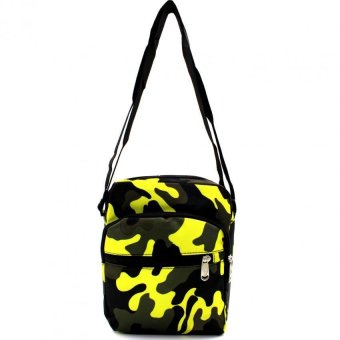 Attraxion Sling Bag Camouflage (Yellow)
