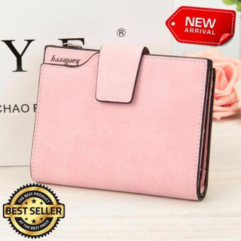 Authentic Baellerry Short Wallet (Multi Function Purse) LIGHT PINK