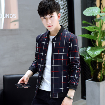 Autumn men jacket New style jacket (Small box dark blue)