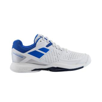 Babolat Pulsion All Court Men's Tennis Shoes (White/Blue)