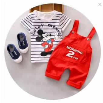 Baby Boy's Clothing Set New Toddler Boys Clothes Spring SummerFashion Kids Clothes T-shirt+Shorts Price Philippines