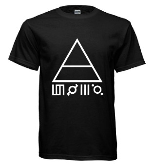 Band Series Thirty Seconds To Mars T-Shirt (Black)