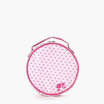 Barbie Girls Round Pouch (Light Pink)