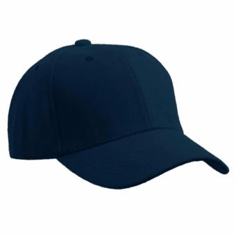Baseball Cap Sports Golf Snapback Solid Hat For Men/Women Navy Blue