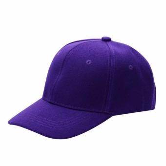 Baseball Cap Sports Golf Solid Hat For Men/Women Violet
