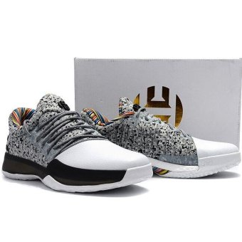 Basketball Shoes For Harden Vol 1 Boost Low Men (White/Grey) - intl