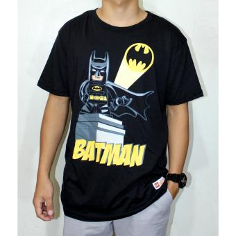 Batman T- Shirt for Men by DC Comics Black