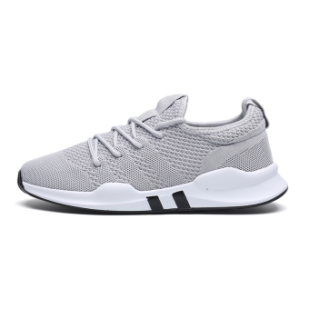 BayMini Korean-style breathable shoes New style sports shoes (7057 gray)