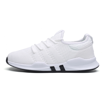 BayMini Korean-style breathable shoes New style sports shoes (7057 white)