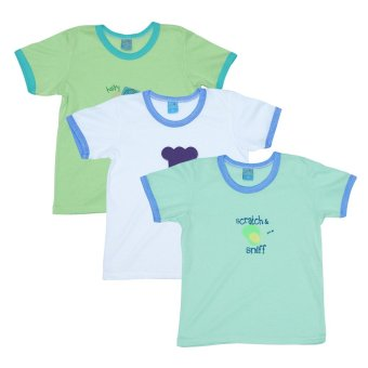 Bebe by SO-EN Young 3 in 1 T-shirt w/ Print (Blue/Asstd)