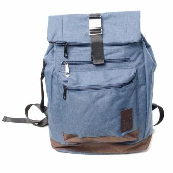 BENCH- BGK0696BU3 Men's Knapsack Bag (Blue)