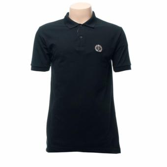 BENCH- BIA0048BK3 Polo Shirt with Patch (Black)