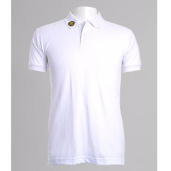 BENCH- BIX0242WH3 Solid Polo Shirt (White)