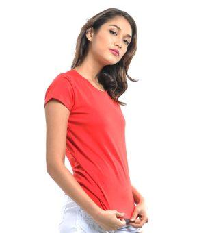 Bench Ladies Undershirt (Red) - 2