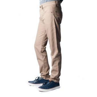BENCH- LAM3521BR1 Men's Colored Chinos (Light Brown) - 3