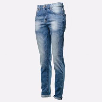 BENCH- LAM3581DB2 Selvedge Overhauled Jeans (Sandblast) - 2