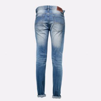 BENCH- LAM3581DB2 Selvedge Overhauled Jeans (Sandblast) - 3