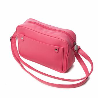 BENCH- YGS0379FU3 Ladies Sling Bag (Pink) - 2